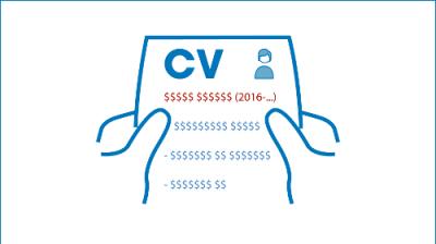 Profesjonalne CV pokazuje że będzie się opłacało Ciebie zatrudnić